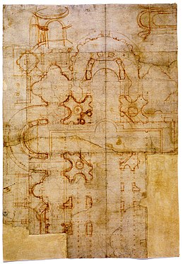 259px-Sheet_with_Bramante's_first_plans.jpg